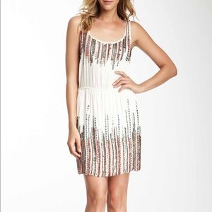 Romeo and Juliet Couture Sleeveless Beaded Dress